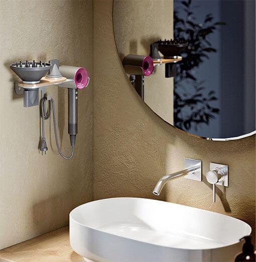 Dyson Hair Dryer Wall Mount