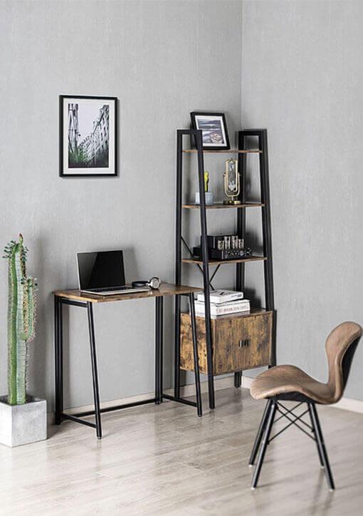 Industrial Style Ladder Shelf
