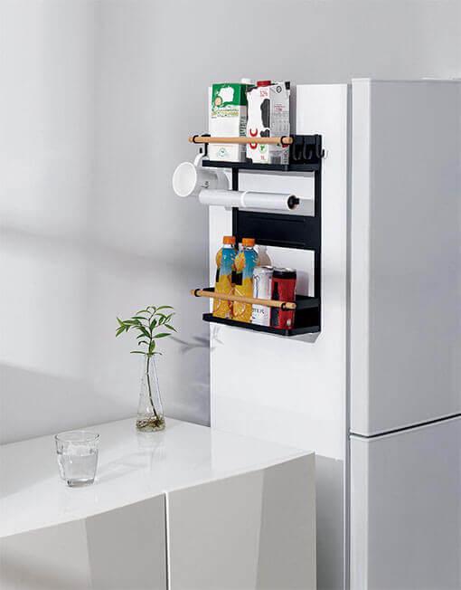 Magnetic Side-Mounted Shelf
