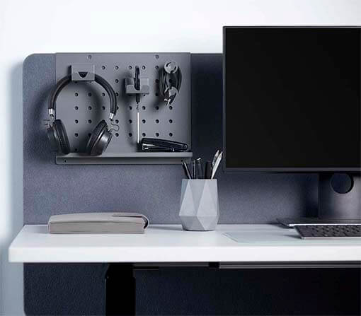 Desk Organizer with Headphone Holder