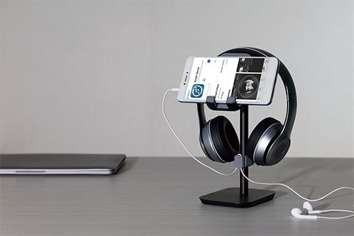 Headphone Stand Black Color