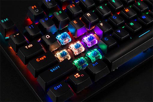 Mechanical Gaming Keyboard Key Switches