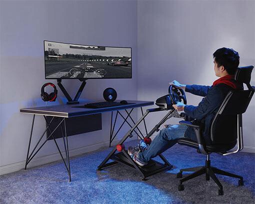 Racing Steering Wheel Stand
