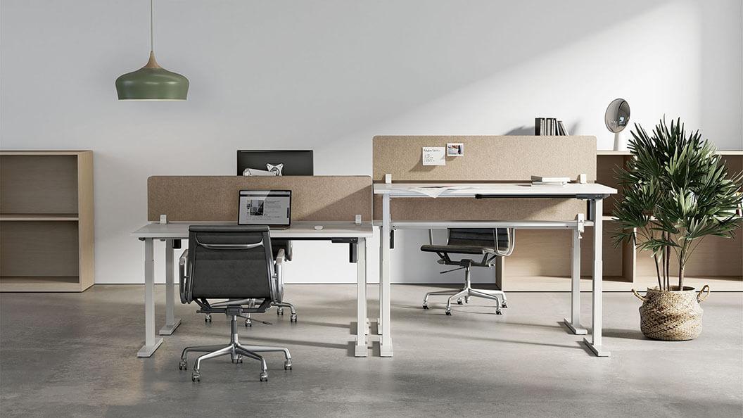 Commercial Grade Single-Motor Sit-Stand Desks