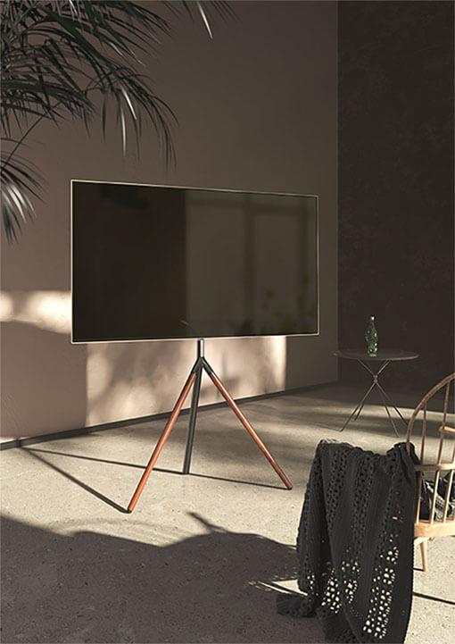 Easel Studio TV Floor Stand