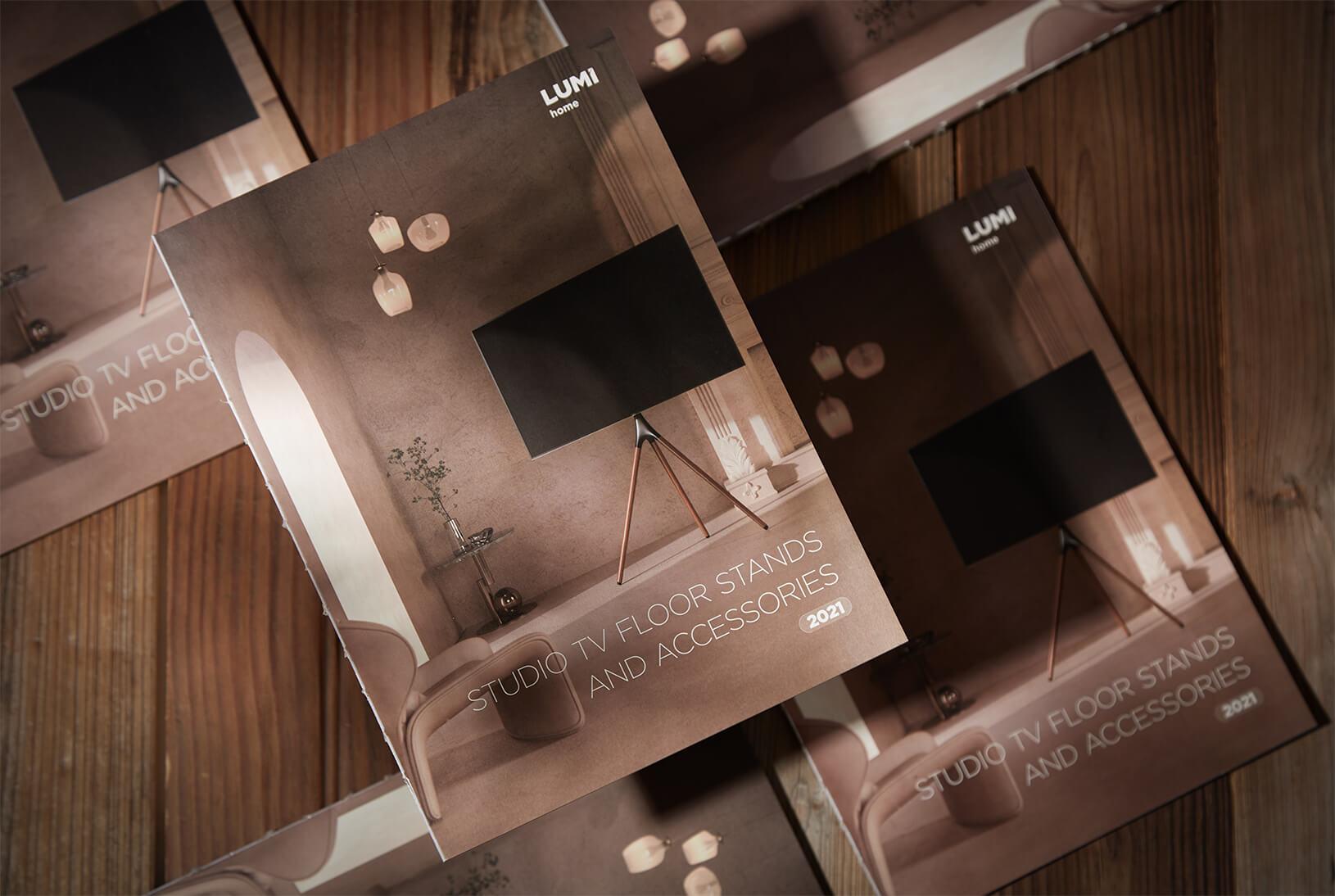 Studio TV Floor Stands And Accessories Catalog